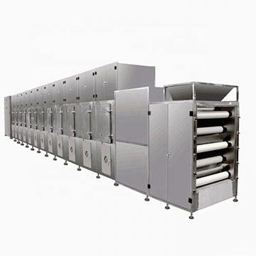 3-Layer Hot Air Conveyor Belt Drying Machine/Multilayer Belt Dryer