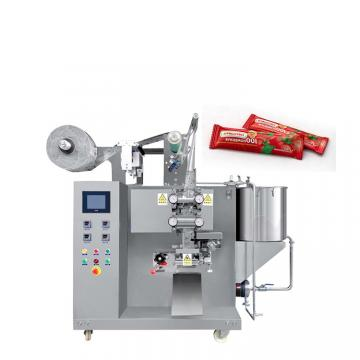 Automatic Paste Ketchup Mayonnaise Chili Sauce Fruit Jam Sachet Filling Packing Machinery
