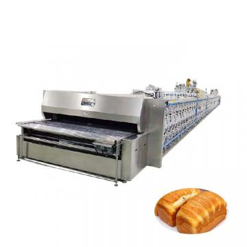 Bread Pastry Hamburger Bun Running Processing Production Line Factory